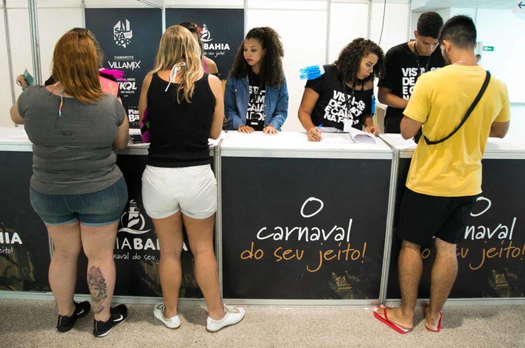 Entrega de abadás com agilidade e conforto no Carnaval 2020