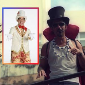 Durval Lelys fantasiado no Carnaval de Salvador