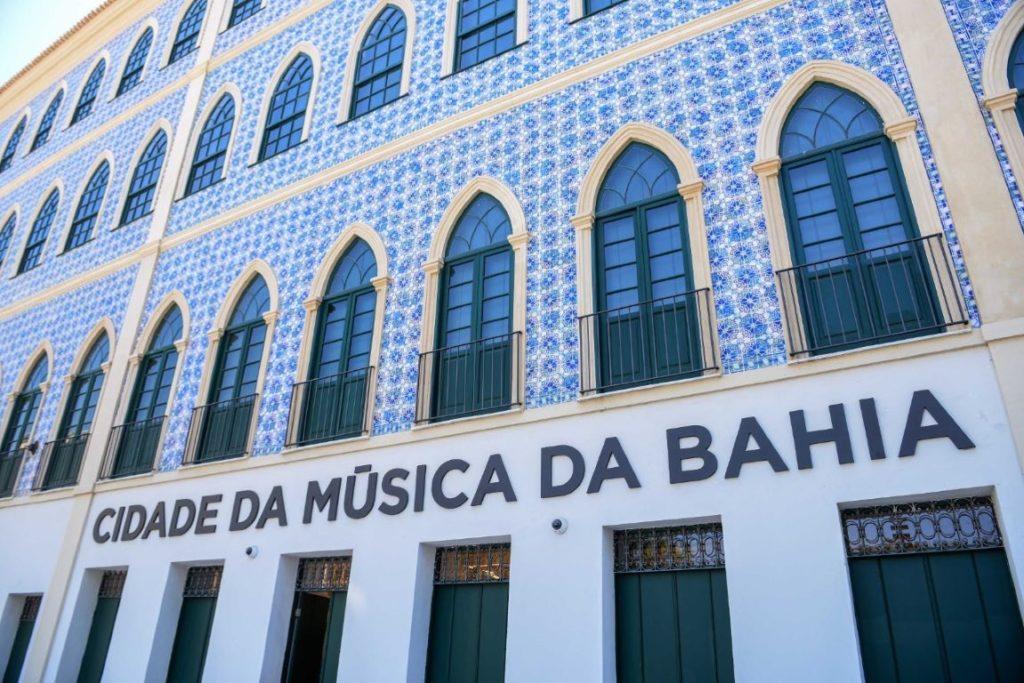 fachada do museu da música da Bahia