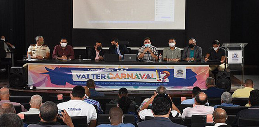 Carnaval de Salvador 2022: Autoridades discutem a realização da festa